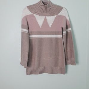 Ann Taylor nude pink sweater nwot